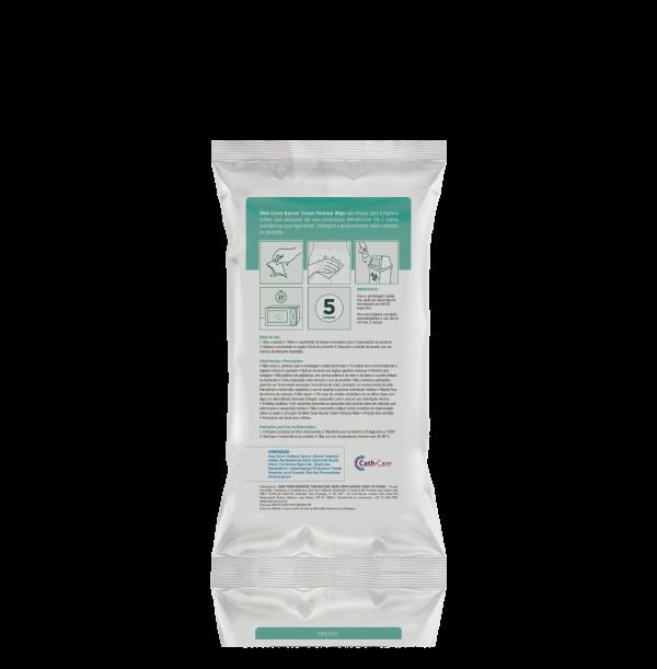 Lenços para Higiene Íntima com Barreira Protetora - Cath-Care