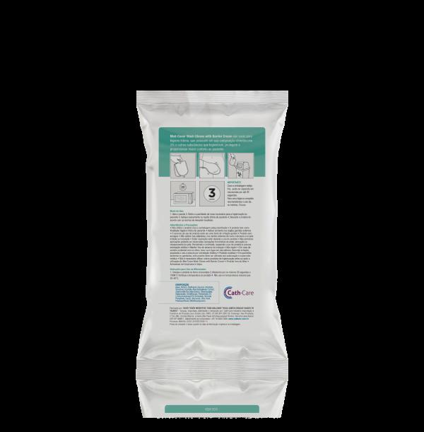 Luvas para Higiene Íntima com Barreira Protetora - Cath-Care